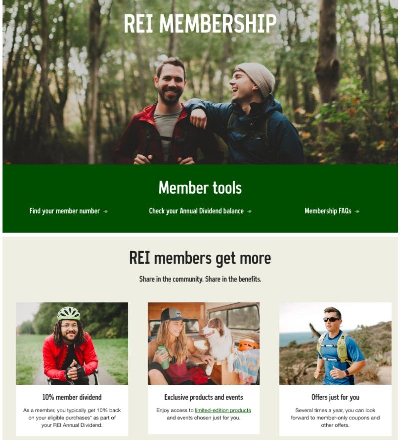 REI-members