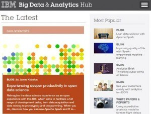 IBM Big Data Analytics Hub Understanding big data for the enterprise